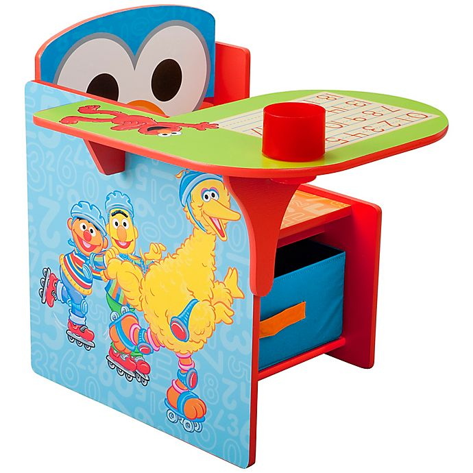 Alternate image 1 for Sesame Street® Chair Desk with Storage Bin