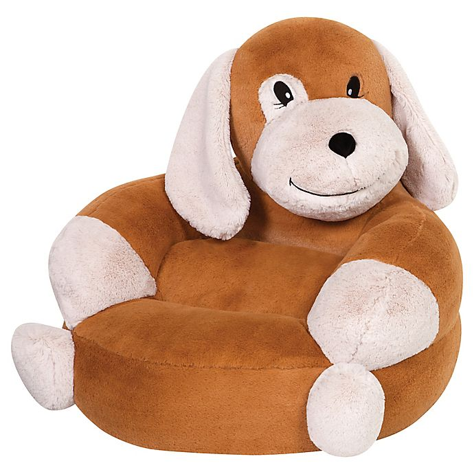 Alternate image 1 for Trend Labs® Plush Puppy Character Chair