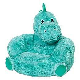 Trend Lab® Plush Dinosaur Chair Dinosaur Chair in Teal