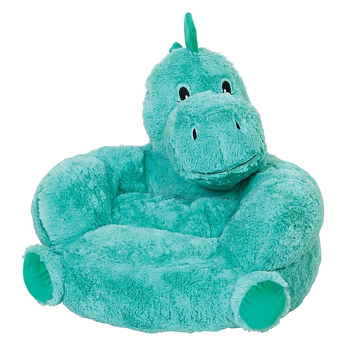 Alternate image 1 for Trend Lab® Plush Dinosaur Chair Dinosaur Chair in Teal