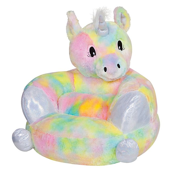 Alternate image 1 for Trend Labs® Plush Unicorn Character Chair