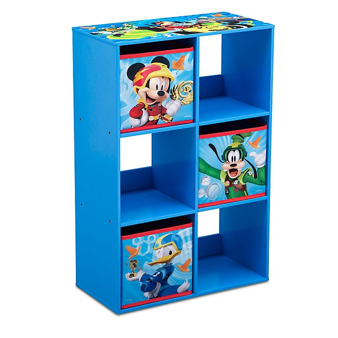 Alternate image 1 for Disney® Mickey Mouse 6-Cubby Storage Unit
