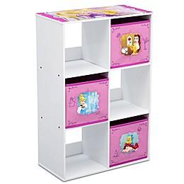 Disney® Princess 6-Cubby Storage Unit