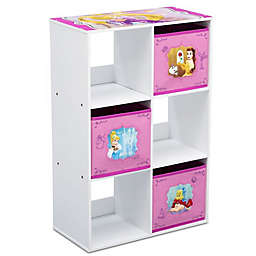 Disney® Princess 6-Cubby Storage Unit