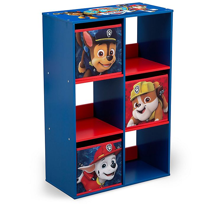 Alternate image 1 for Nick Jr.™ PAW Patrol 6-Cubby Storage Unit