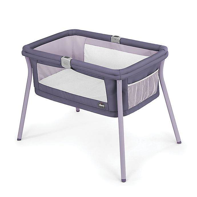 Alternate image 1 for Chicco® LullaGo® Portable Bassinet in Iris