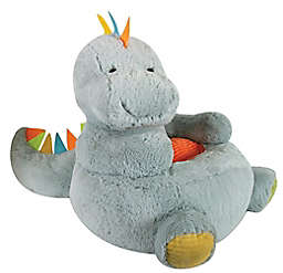 Stephan Baby Dinosaur Plush Chair in Grey
