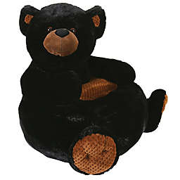 Stephan Baby Black Bear Plush Chair