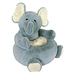 Stephan Baby Elephant Plush Chair in Grey