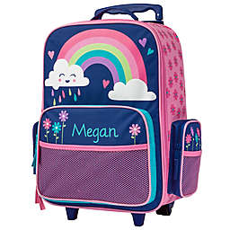 Stephen Joseph® Rainbow Classic Rolling Luggage in Blue/Pink