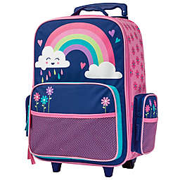 Stephen Joseph® Rainbow Classic Rolling Luggage in Pink