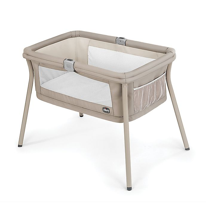 Alternate image 1 for Chicco® LullaGo Portable Bassinet in Beige