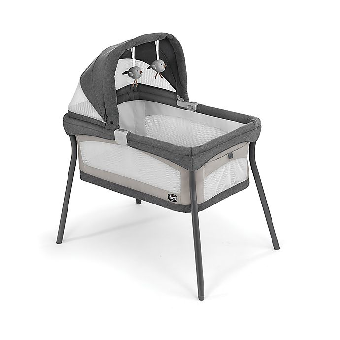 Alternate image 1 for Chicco® LullaGo® Primo Portable Travel Bassinet in Beige