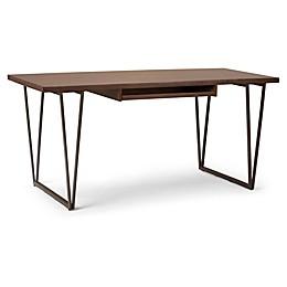 Simpli Home Ryder Desk in Aged Brown