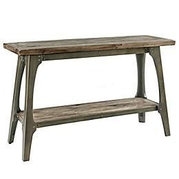 INK+IVY Oliver End Table in Grey