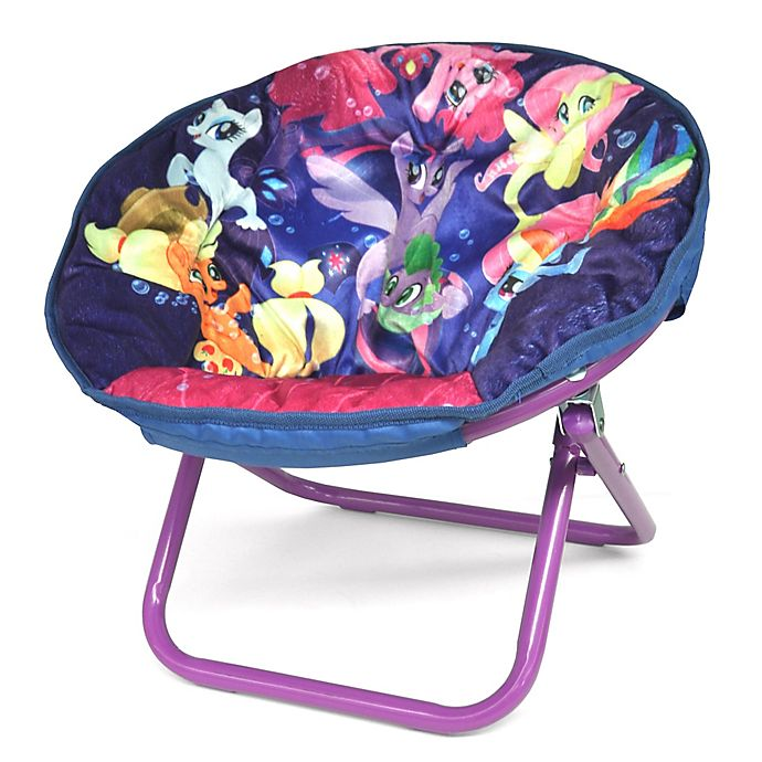 Alternate image 1 for Hasbro® My Little Pony™ Upholstered Saucer Kids Chair
