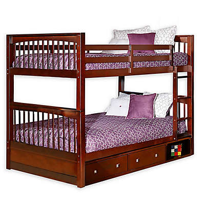 Hillsdale Furniture Pulse Bunk Bed with Storage