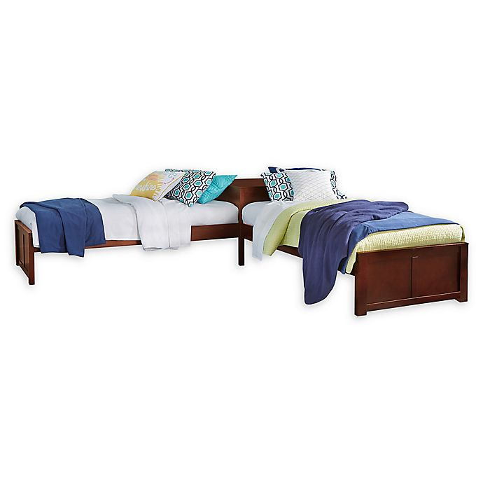 Alternate image 1 for Hillsdale Furniture Pulse Twin L-Shaped Bed