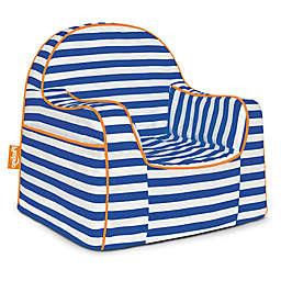 P'kolino Little Reader in Blue/White Stripes