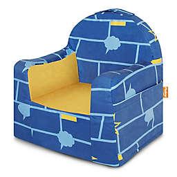 P'kolino Little Reader Comic Chair in Blue/Yellow