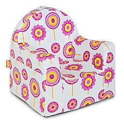 P'kolino Little Reader Chair in White/Pink