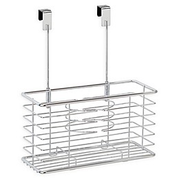 iDesign™ Linea Over-the-Cabinet Door Hair Tools Holder in Chrome