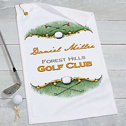 Golf Pro Golf Towel
