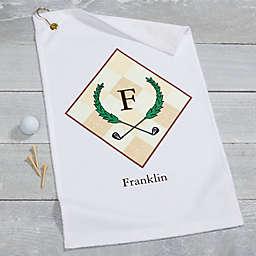 Vintage Golfer Golf Towel