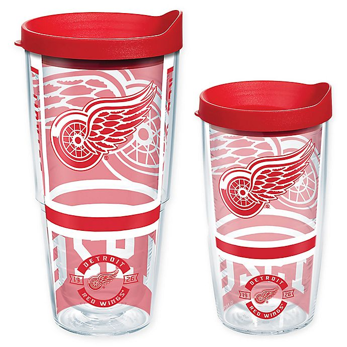 Alternate image 1 for Tervis® NHL Detroit Red Wings Wrap Tumbler with Lid