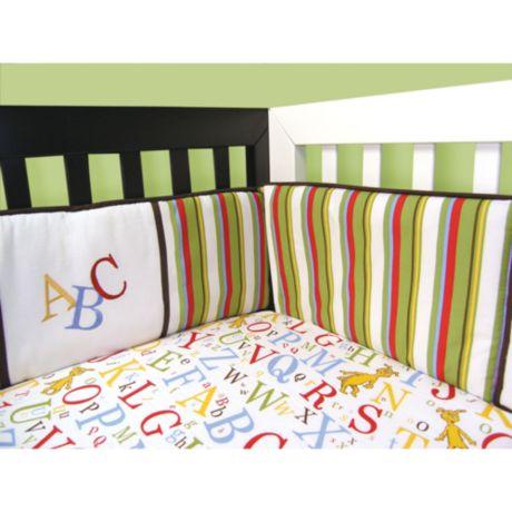 Trend Lab 174 Dr Seuss Abc 4 Piece Crib Bumper Set Buybuy