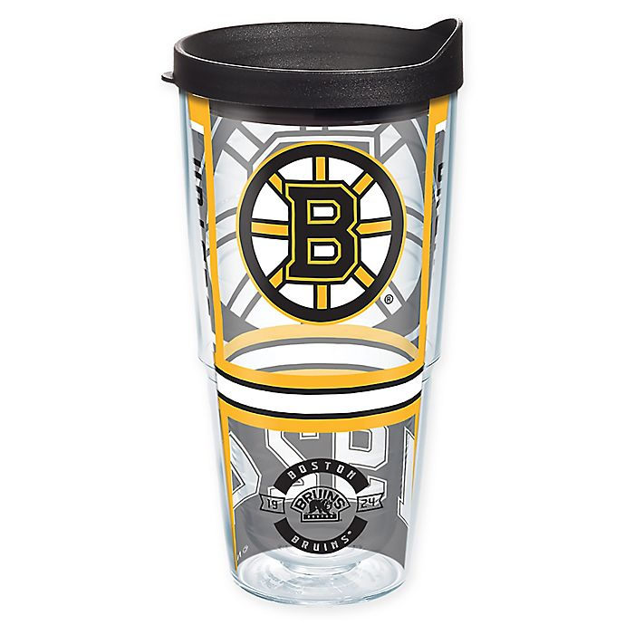 Alternate image 1 for Tervis® NHL Boston Bruins 24 oz. Wrap Tumbler with Lid