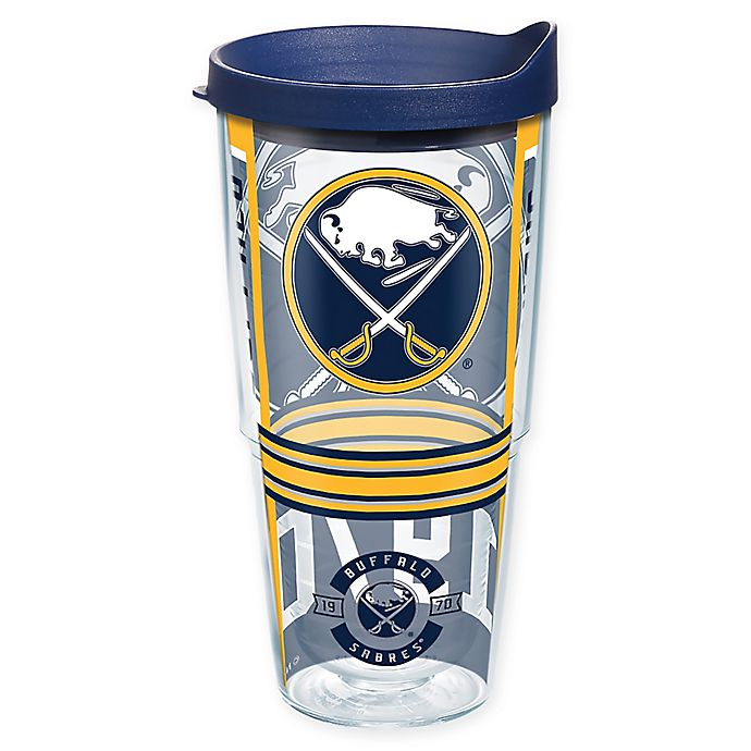 Alternate image 1 for Tervis® NHL Buffalo Sabres 24 oz. Wrap Tumbler with Lid