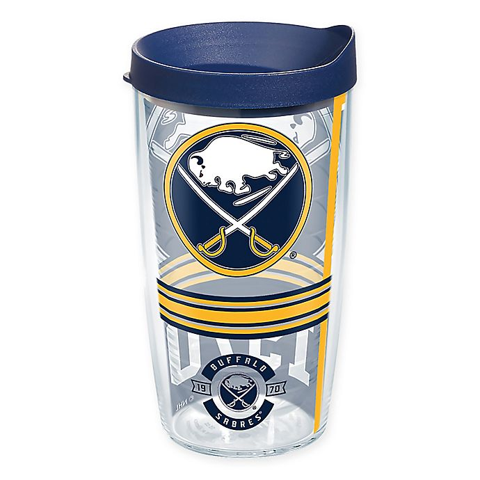 Alternate image 1 for Tervis® NHL Buffalo Sabres 16 oz. Wrap Tumbler with Lid