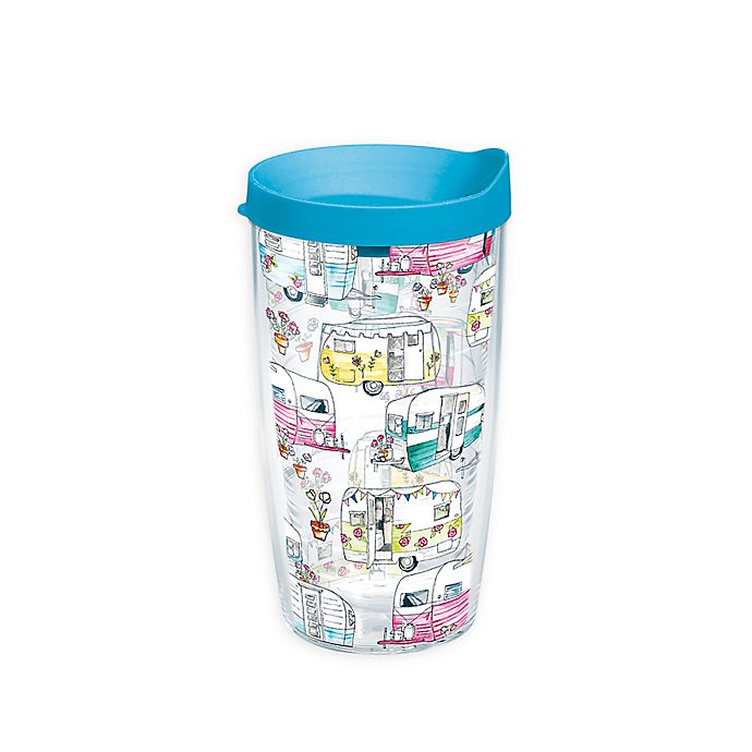 Alternate image 1 for Tervis® Colorful Camper 16 oz. Wrap Tumbler with Lid