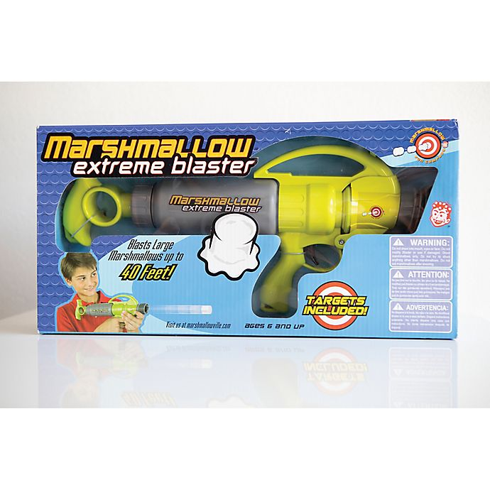 Alternate image 1 for Marshmallow Fun Company Marshmallow Extreme Blaster in Green/Grey