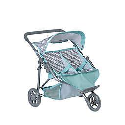 Adora® Zig Zag Twin Jogger Stroller