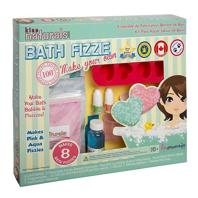 Alternate image 1 for Kiss Naturals DIY Kid's Bath Fizzie Making Kit