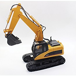 Rivera RC™ Professional Heavy-Duty Excavator in Yellow