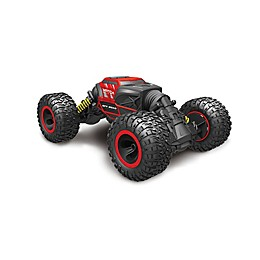 Rivera RC™ Rock Crawler Transforming Stunt Car in Red