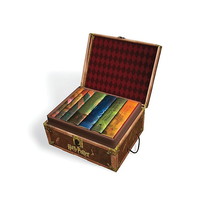 Alternate image 1 for Harry Potter Books 1‑7 Hardcover Boxed Set by J.K. Rowling