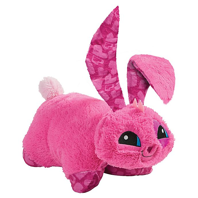 Alternate image 1 for Pillow Pets® Animal Jam Bunny Stuffed Plush Toy in Pink
