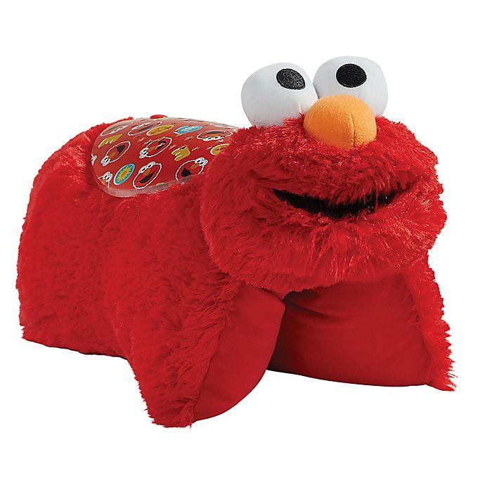 Alternate image 1 for Pillow Pets® Sesame Street Friends Elmo Sleeptime Light Night Pillow Pet in Red