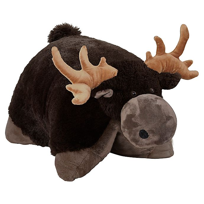 Alternate image 1 for Pillow Pets® Wild Moose Stuffed Plush Toy in Brown
