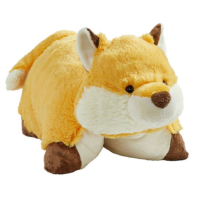 Alternate image 1 for Pillow Pets® Wild Fox Stuffed Plush Toy in Orange