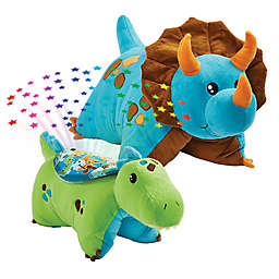 Pillow Pets® 2-Piece Dino Pillow and Dino Sleeptime Lite Set in Blue/Green