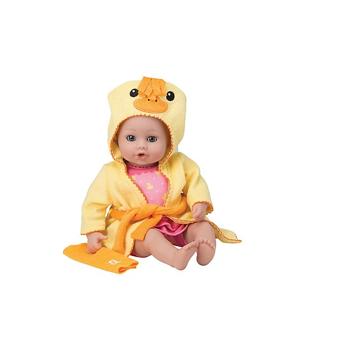 Alternate image 1 for Adora® BathTime Ducky Girl Washable Doll