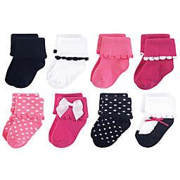 Luvable Friends® Size 12-24M 8-Pack Dressy Socks
