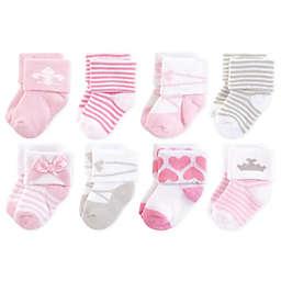 Hudson Baby® 8-Pack Royal Terry Socks