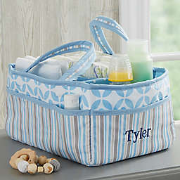 Personalized Embroidered Diaper Caddy