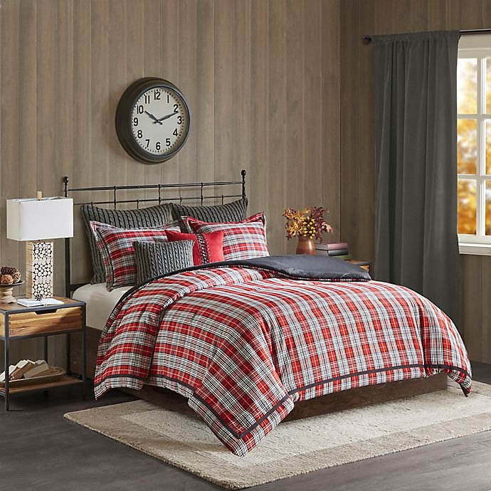 Alternate image 1 for Willamsport Plaid Comforter Set